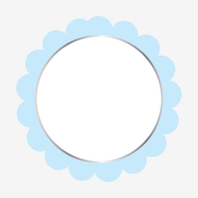 Blue Floral Frame Clipart Vector Png Element Frame Motif Border Png And Vector With Transparent Background For Free Download Frame Clipart Frame Logo Blue Watercolor Floral