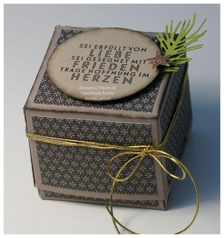 Letzte Woche hat eine liebe Freundin diesen tragbaren Adventskranz geschenkt bekommen. Der macht besonders viel Sinn, wenn man - so wie sie ...