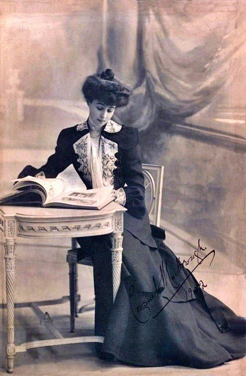 Consuelo Vanderbilt, 1902 ~ Consuelo is a character in the London portion of The Duke & the Cowgirl