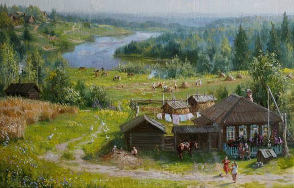 В рабочий полдень., автор Владимир. Артклуб Gallerix