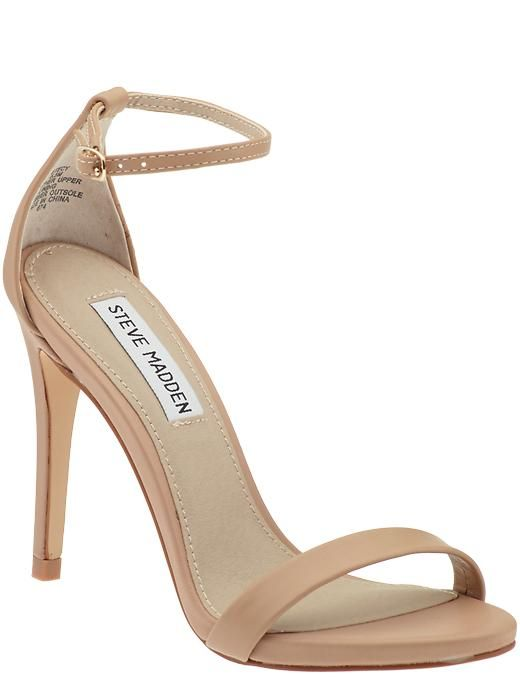Steve Madden nude sandal found on Nudevotion                                                                                                                                                      More