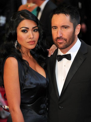 Nine Inch Nail's Trent Reznor and his wife, Mariqueen Maandig. How to Destroy Angels and NIN.