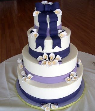 purple calla lily wedding cakes 86 best calla wedding theme images on 18894