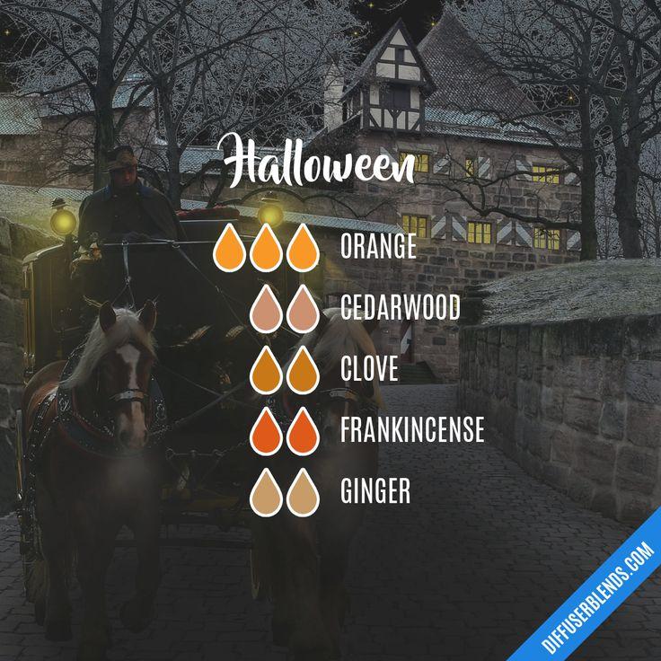 Halloween — Essential Oil Diffuser Blend