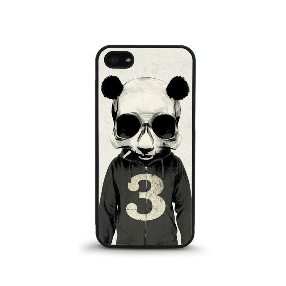 Panda Skull Phone Case  iPhone 4/4s 5/5s 6/6 by FreshAFstudios