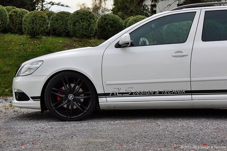 "MSW 24 in 19"" on Skoda Octavia RS by RLS #OZRACING #MSW #24 #RIM #WHEEL"