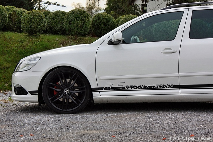 "MSW 24 in 19"" on Skoda Octavia RS by RLS #OZRACING #MSW #24 #RIM #WHEEL"
