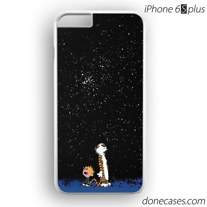 calvin and hobbes star moon iPhone 6 / 6S Plus Case