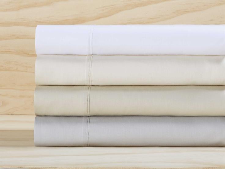 370 Thread Count | 100% Cotton Sateen Sheet Sets