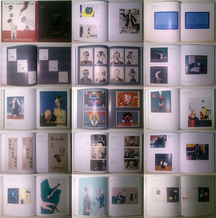 VIKTOR PIVOVAROV book I-II 2014  Moscow Conceptualist artist