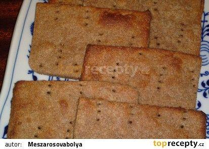 Knäckebrod - jemný křupavý chléb recept - TopRecepty.cz
