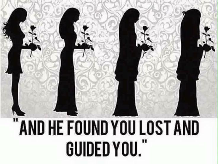 """""""ووجدك ضالًا .. فهدى"""" """"And he found you lost and guided you"""" #Quran #Islam #inspiration for Muslimahs"""