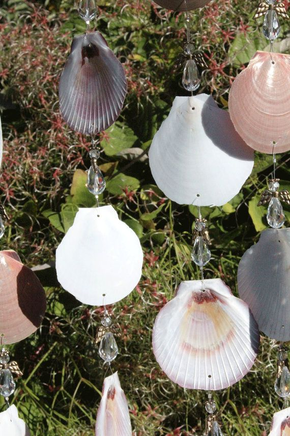 Driftwood Sea Shell Wind Chimes Wind Chimes by seashorewindchimes