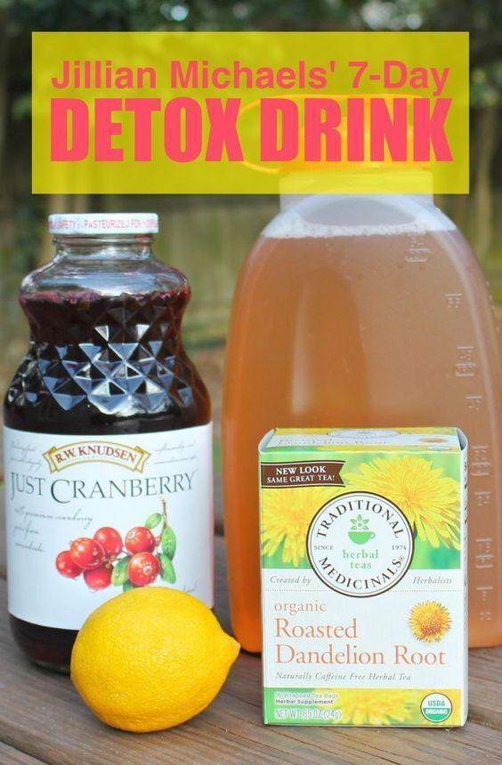Tea Detox | Detox | juice cleanse | Jillian Michaels ...