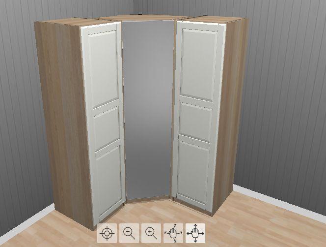 Ikea pax corner wardrobe에 관한 상위 25개 이상의 Pinterest 아이디어 ...