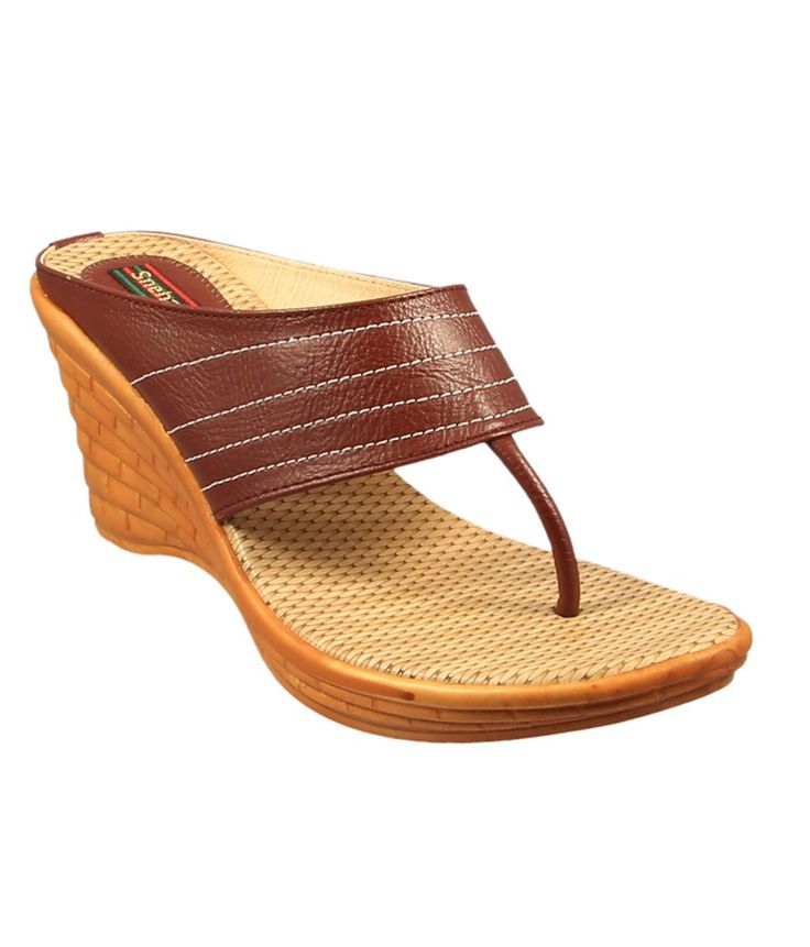 Loved it: Sneha Unique Brown Heeled Slip On, http://www.snapdeal.com/product/sneha-unique-brown-heeled-slip/674931079880