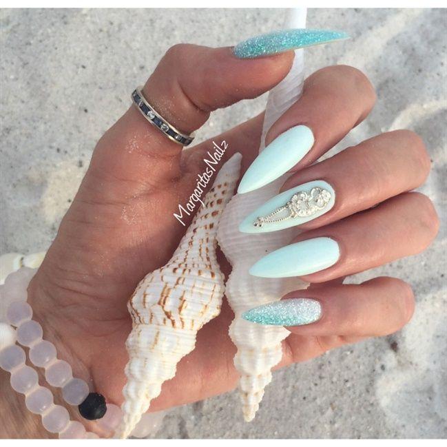 ocean nails - nail art