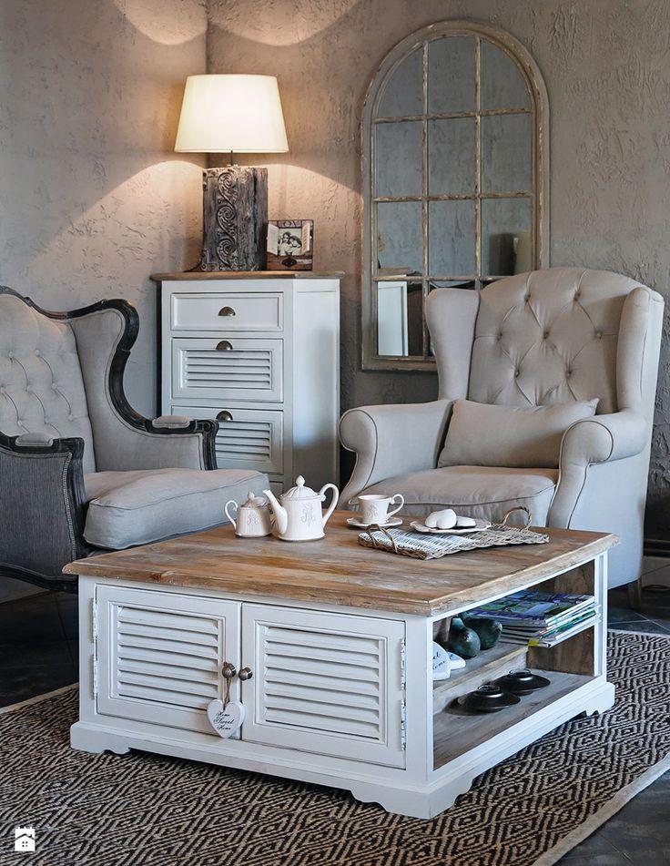 Mały salon, styl prowansalski - zdjęcie od Deccori