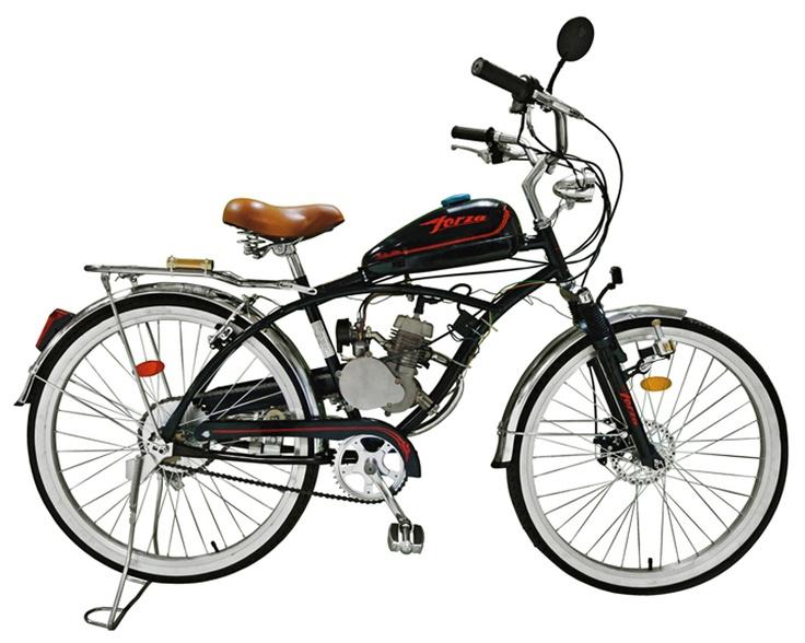 Bicicleta Forza FS R26 1V con Motor a Gasolina 48cc