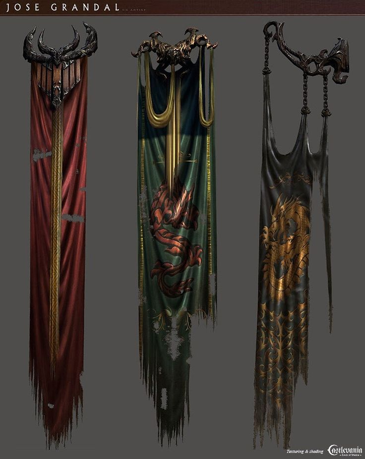 ArtStation - Castlevania: Lords of shadow 2. Decoration and props, Jose Grandal