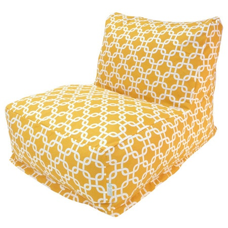 Yellow Bean Bag Chair
