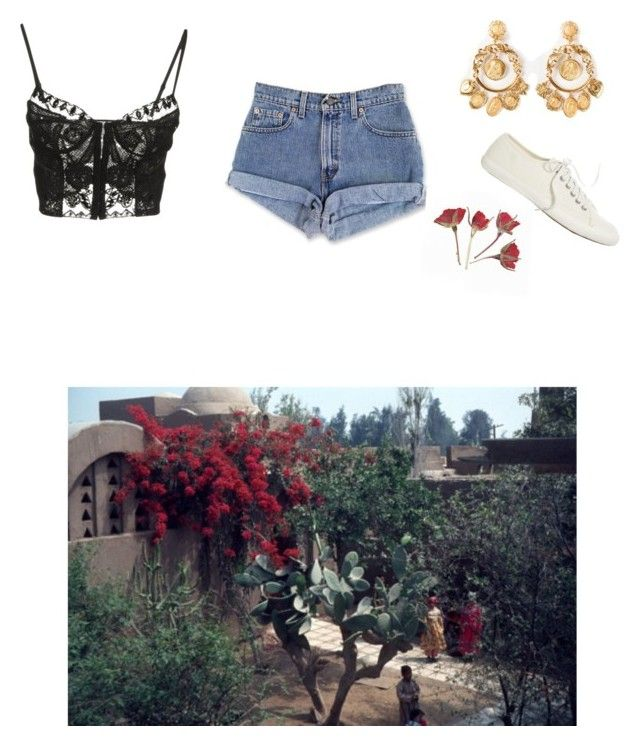 """""""a secret kiss in the sycamore grove"""" by schmollend ❤ liked on Polyvore featuring Emilio Pucci, Dolce&Gabbana, J.Crew, Summer, spanish, romance, Secrets and LateAfternoon"""