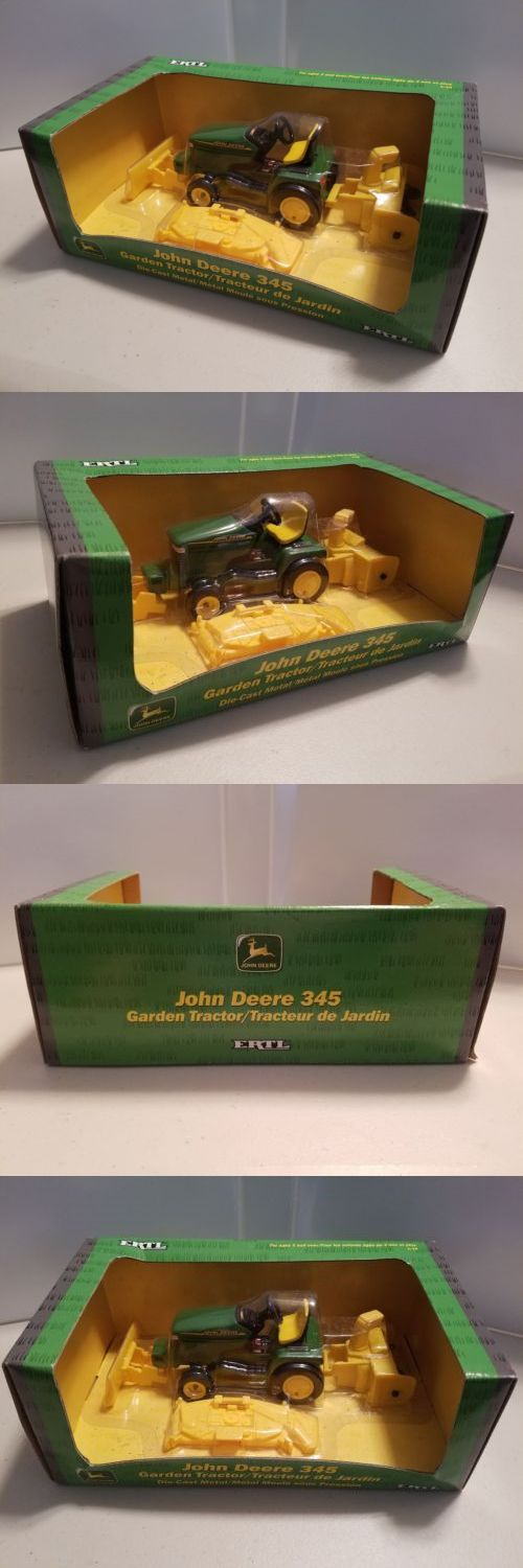 Vintage Manufacture 741: Ertl John Deere 345 Garden Tractor Lawn Mower 1 16 Scale Diecast Metal Nib 2001 -> BUY IT NOW ONLY: $39 on eBay!