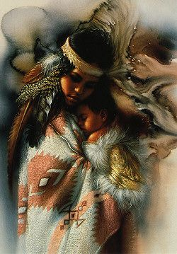 beautiful native american prints | Native American - Cards by Theme - Home - Fairy and gothic cards, new ...