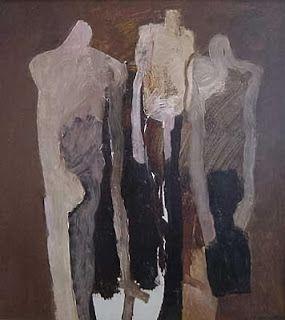 "Keith Vaughan ""Group of Dinkas"", 1963"