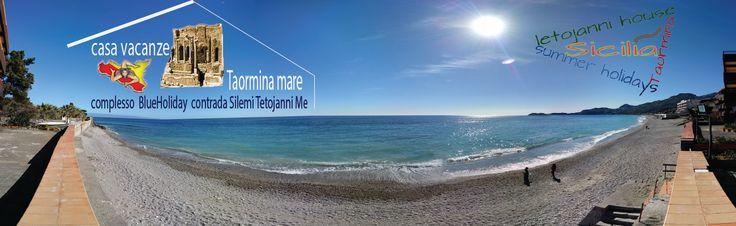 Letojanni Taormina beach, casa per vacanze in affitto e