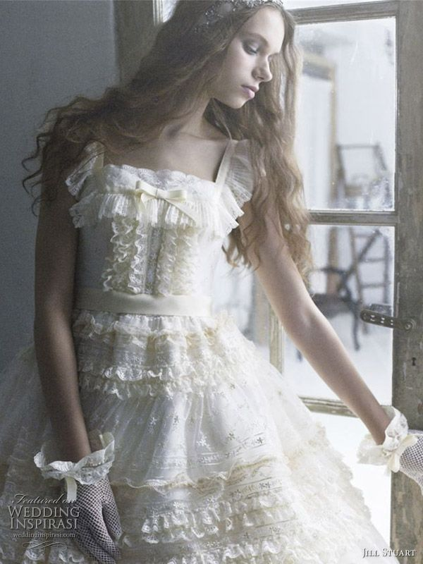 Romantic Wedding Dress by Jill Stuart