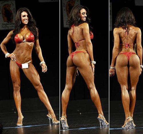 Upfront about Bikini model competion chubby