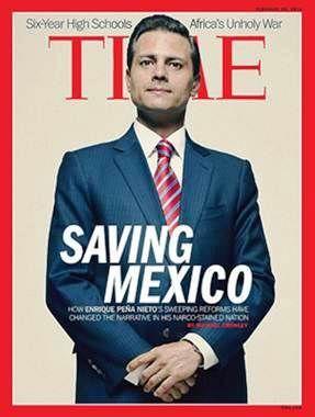 Peña Nieto pagó 576 mil pesos para aparecer en Time - Revolución Tres Punto Cero