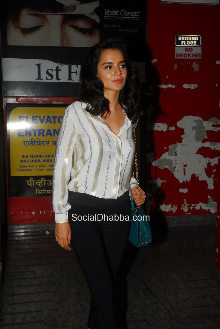 Gori Tere Pyaar Mein Movie Screening (30) – Kangna Ranaut  #bollywood #photos #top #latest #movies