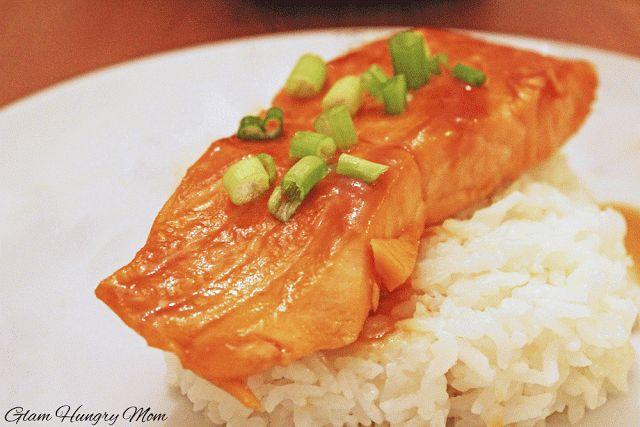 Miso Ginger Salmon | Miso Foods | Pinterest