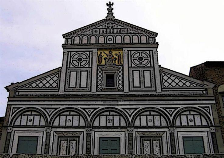 La basilica di San Miniato a Firenze.