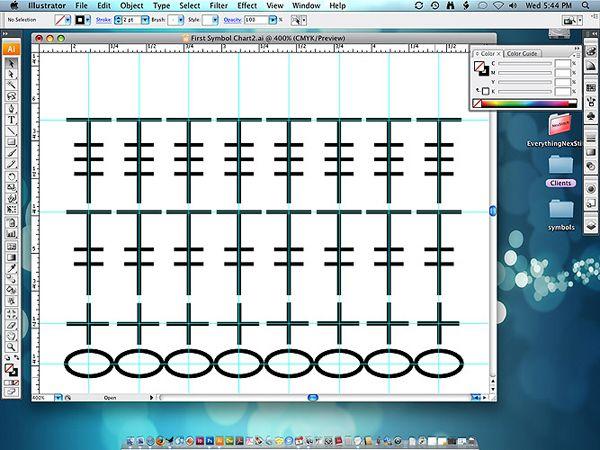 How To: Make Crochet Diagrams using Adobe Illustrator
