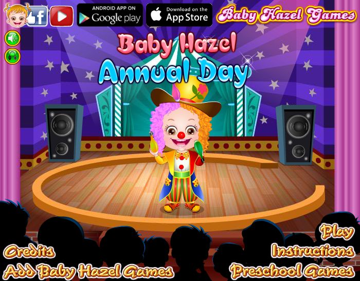 Baby Hazel and friends impresses audiences with their fabulous performance at Preschool Annual day. http://www.babyhazelgames.com/games/baby-hazel-annual-day.html