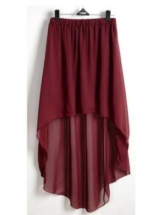 wine high low skirt skirt high low bohemian boho