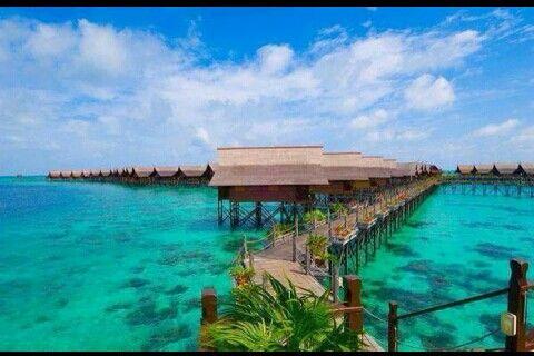 Kapalai Resort. Malaysia