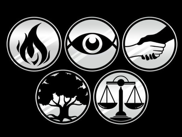 I got : Divergent! Aptitude Test: Which Faction Do You Belong In? You broke the system. Inconclusive. You belong to two or more, be very aware, any will kill you.