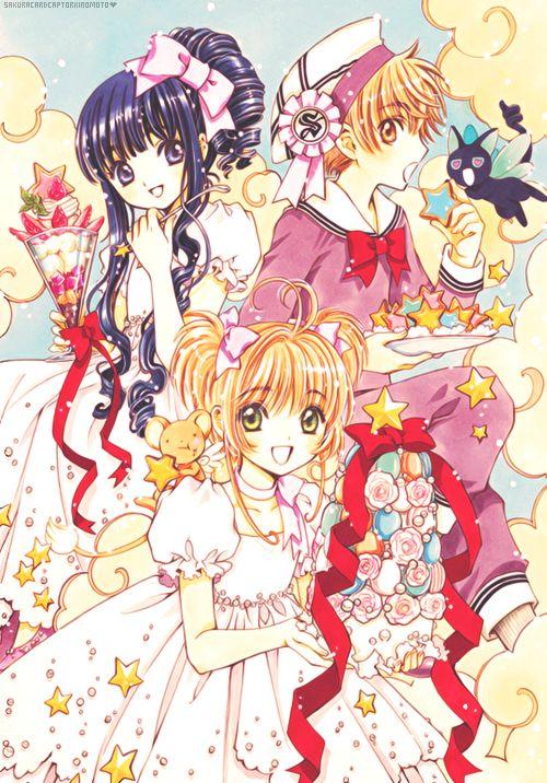 Catch you, Catch me! Card Captor Sakura. Sakura, Tomoyo, Shaoran.