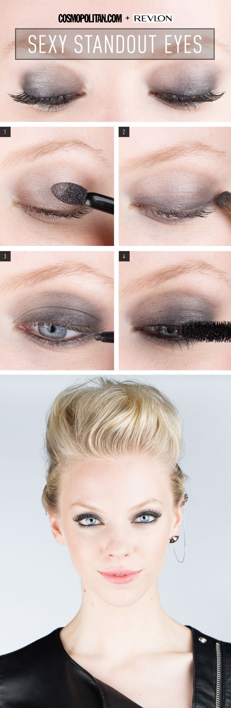 Bold Rocker Eye Makeup How To