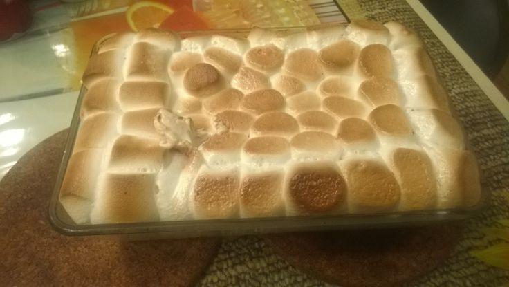 Пошаговый рецепт десерта с маршмеллоу, Простой и оригинальный десерт с маршмеллоу, рецепт с фото.