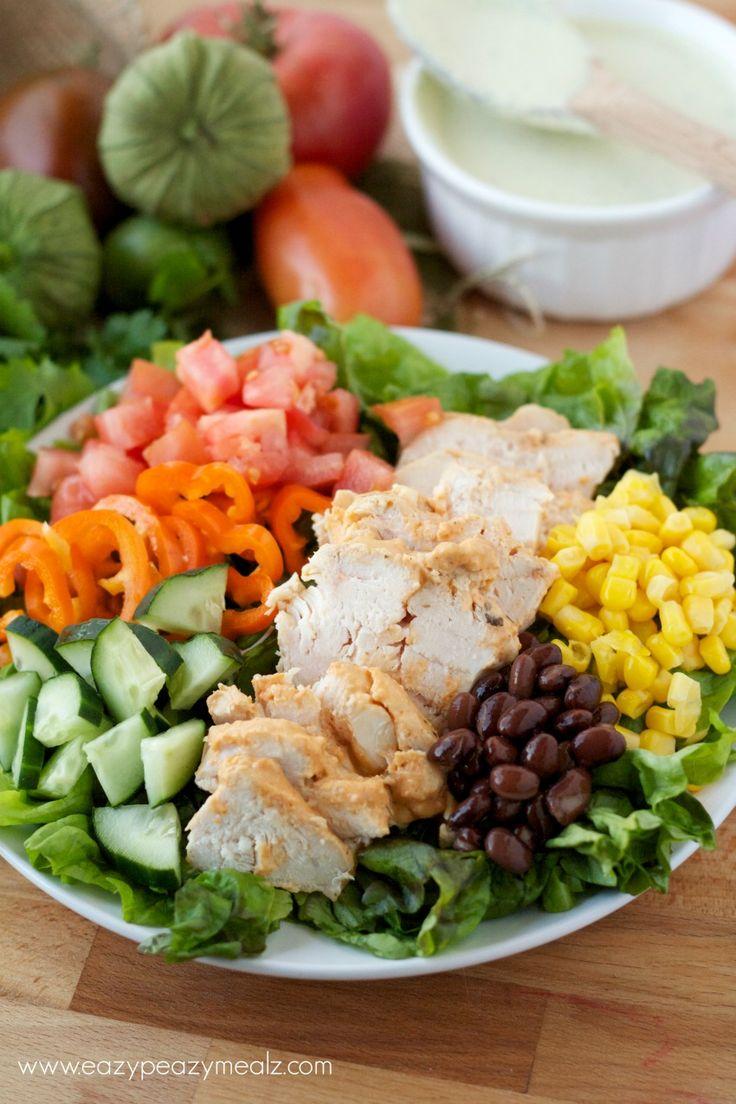 ... Salads on Pinterest | Black bean salads, Greek salad and Dressing