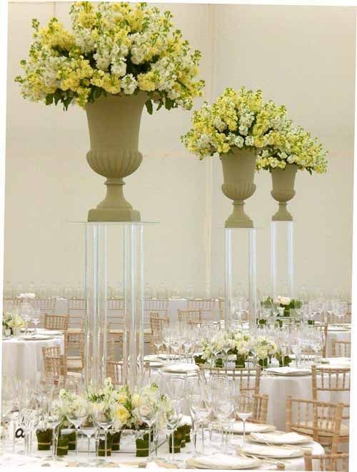 Tall Vases Wedding Flower Centerpieces The Specialists