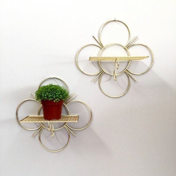 Quatrefoil Metal Wall Decor : Best wire wall shelf ideas on produce