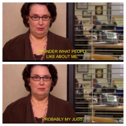 the office meme phyllis vance