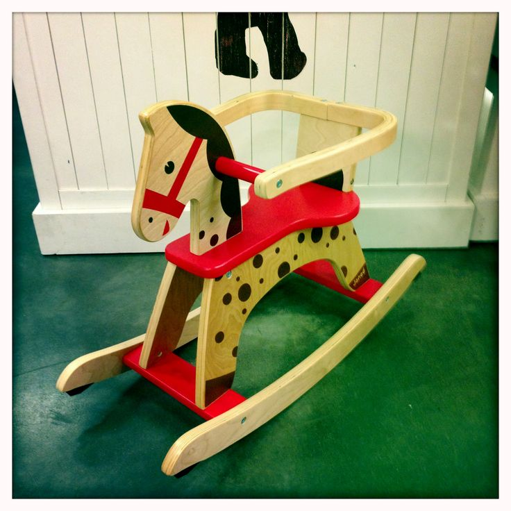 Janod  wooden rocking horses arrived at our Nunawading store this week. #parenthood #rockinghorse #wooden #toy #rocking #horse