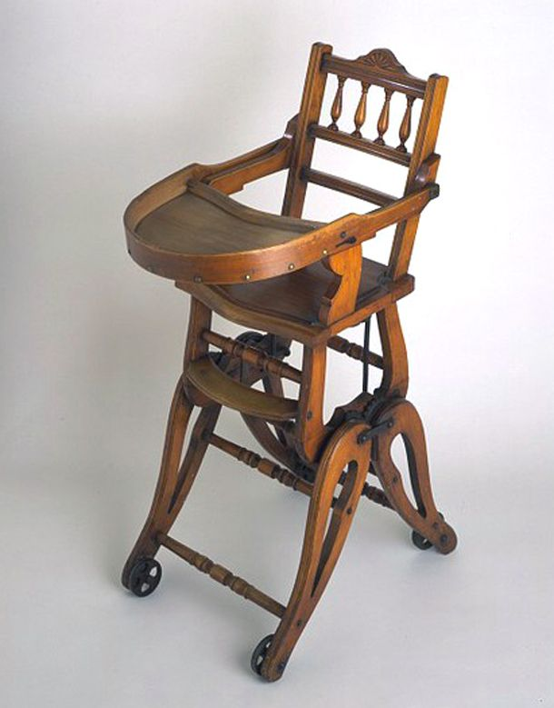 high chair english 19th century antiques historical